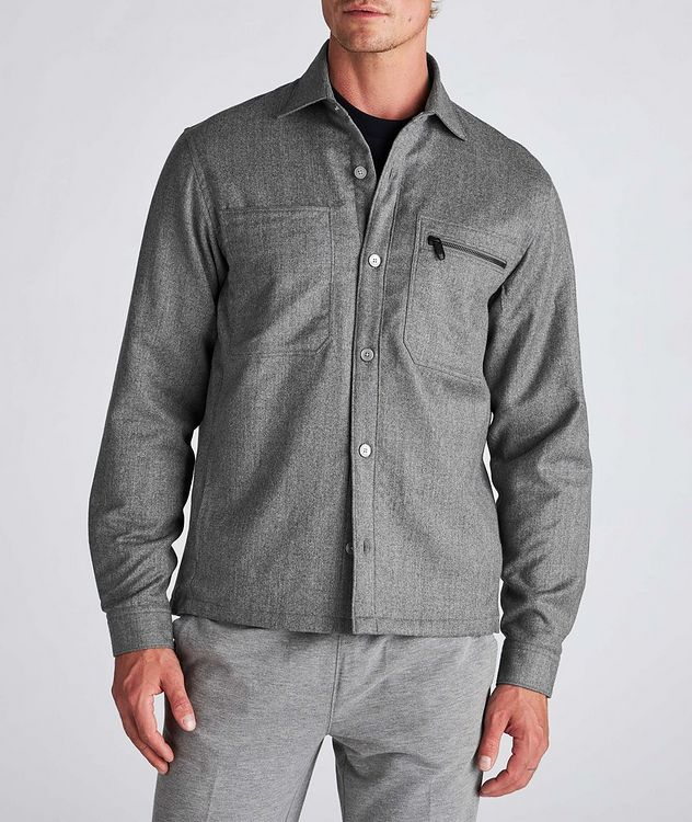 Techmerino Wool Overshirt picture 2