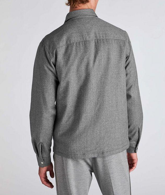 Techmerino Wool Overshirt picture 3