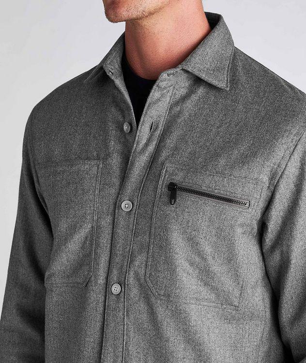 Techmerino Wool Overshirt picture 4