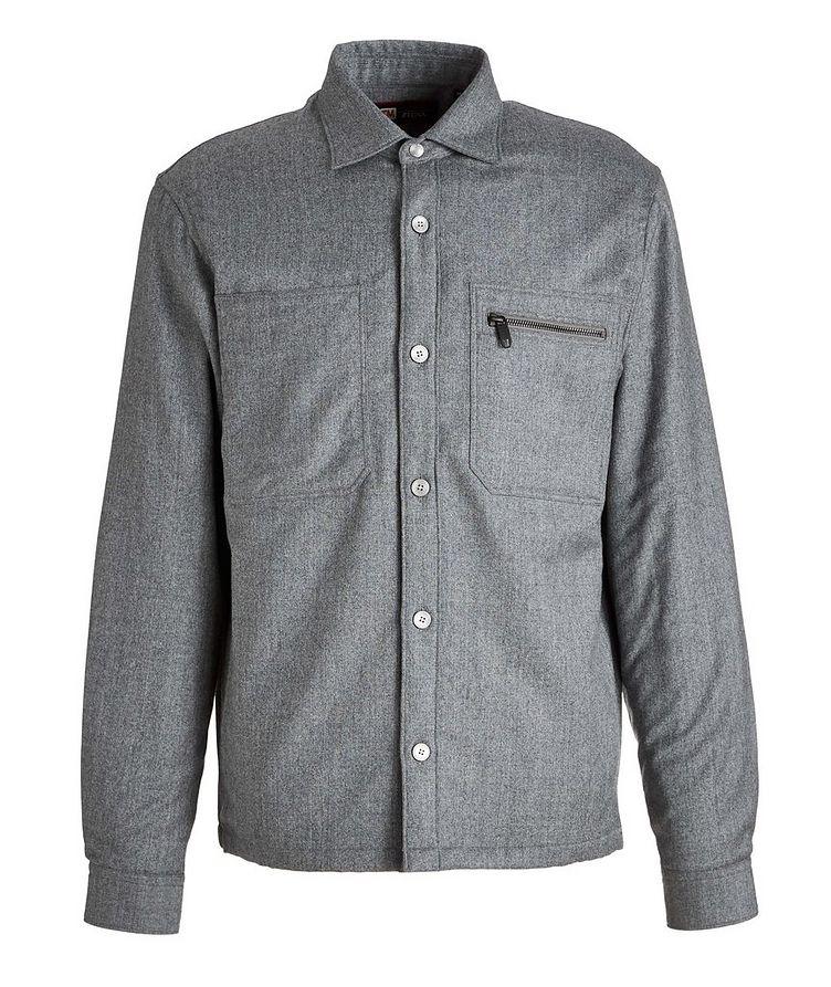 Techmerino Wool Overshirt image 0