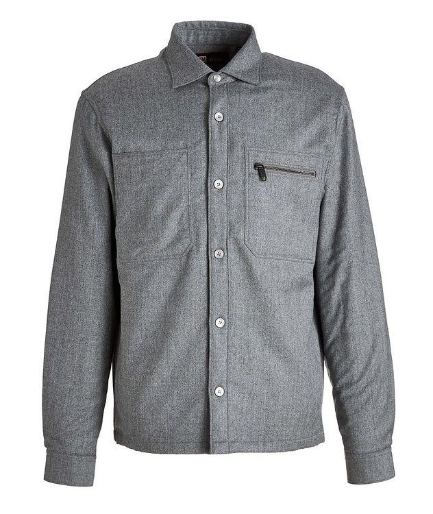 Techmerino Wool Overshirt picture 1