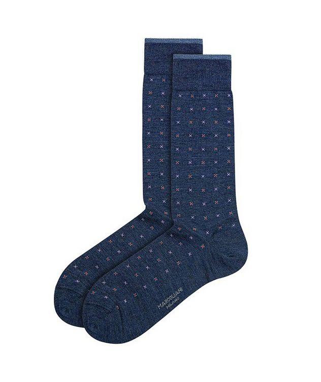 Printed Wool-Blend Socks picture 1