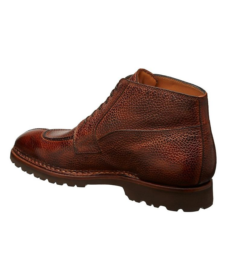 Soft Grain Leather Boots image 1