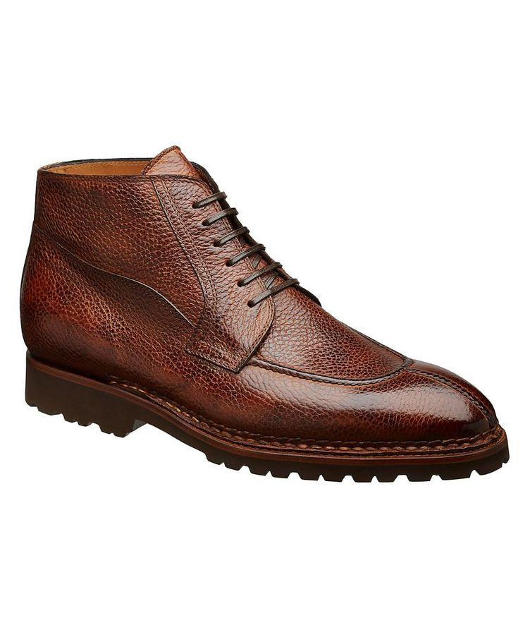 Soft Grain Leather Boots image 0