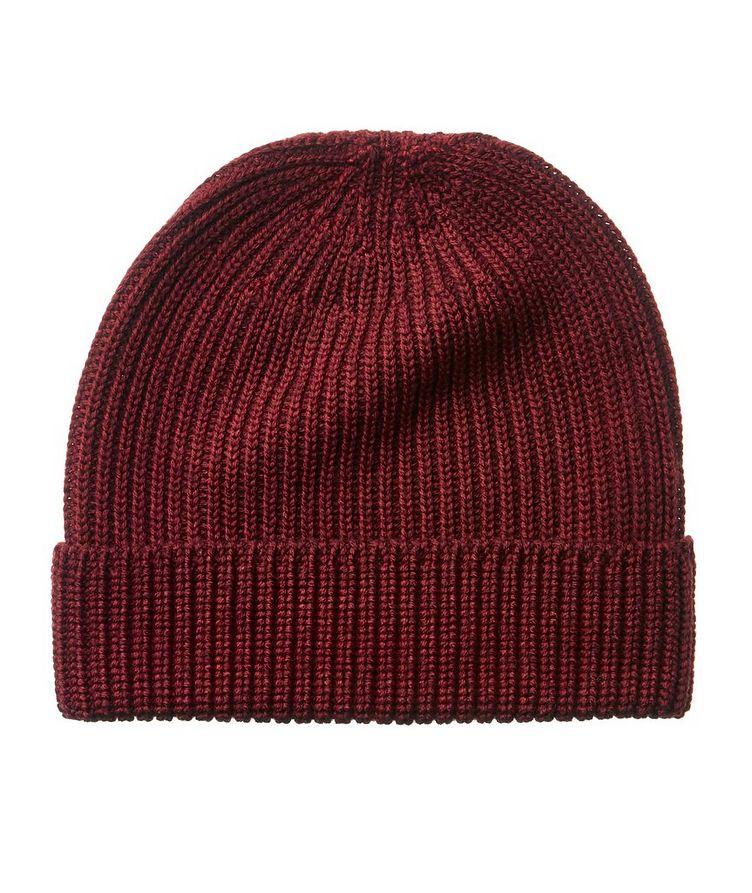 Ribbed Merino Wool Toque image 0