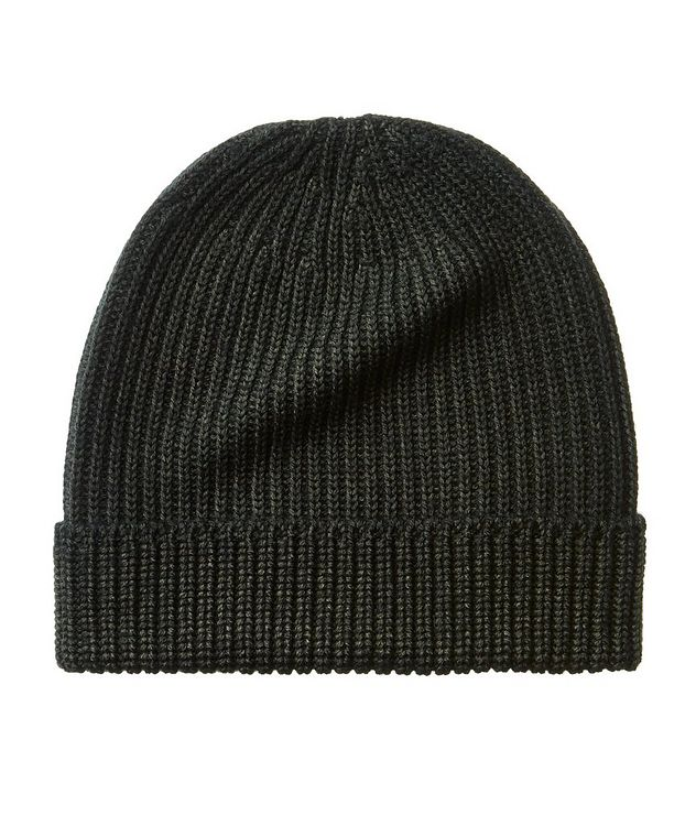 Ribbed Merino Wool Toque picture 1