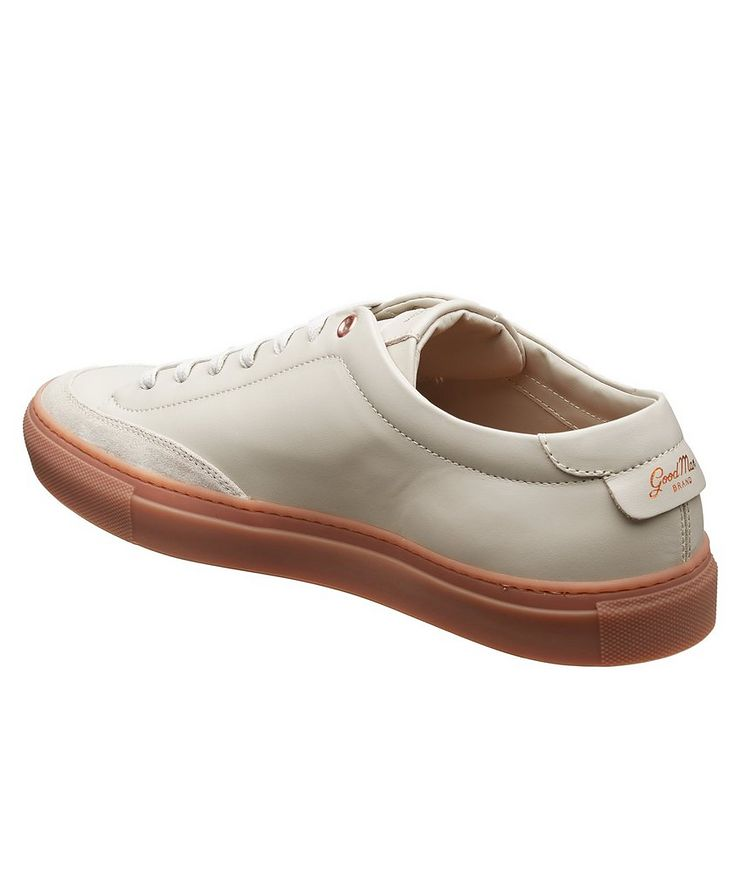 Edge Court Leather Sneakers image 1