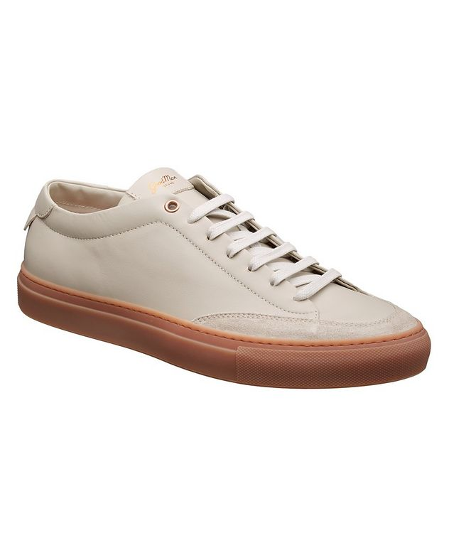Edge Court Leather Sneakers picture 1