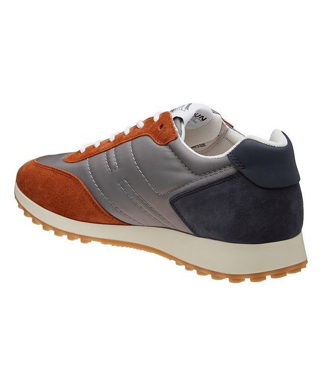 H429 Suede & Leather Sneakers picture 2