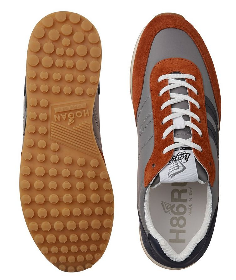 H429 Suede & Leather Sneakers image 2