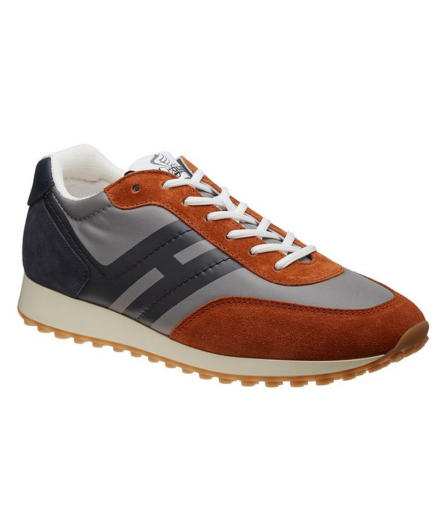 H429 Suede & Leather Sneakers picture 1