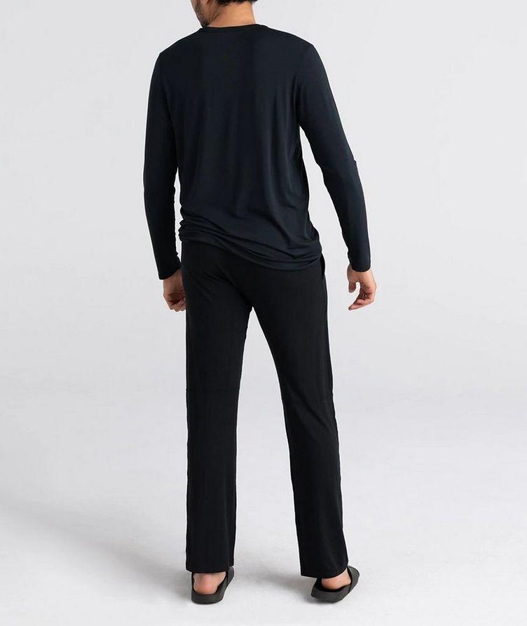 Sleepwalker Long-Sleeve Stretch-Modal T-Shirt image 2