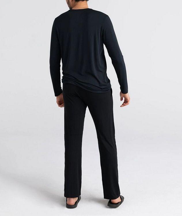 Sleepwalker Long-Sleeve Stretch-Modal T-Shirt picture 3