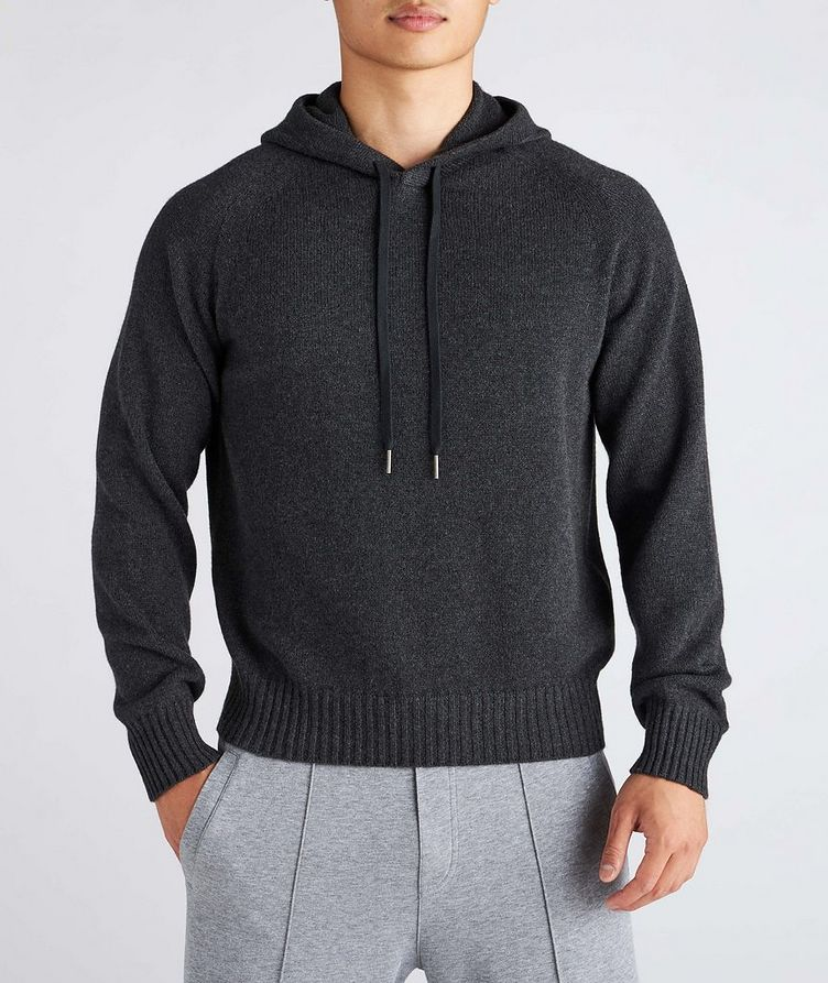 Cashmere Hooded Sweater image 1