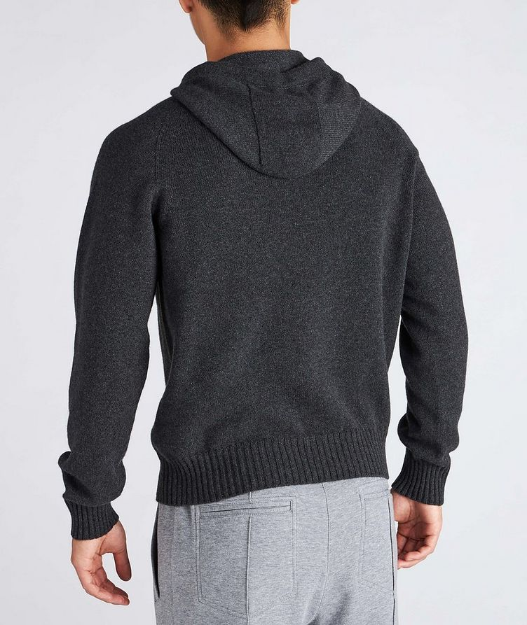 Cashmere Hooded Sweater image 2