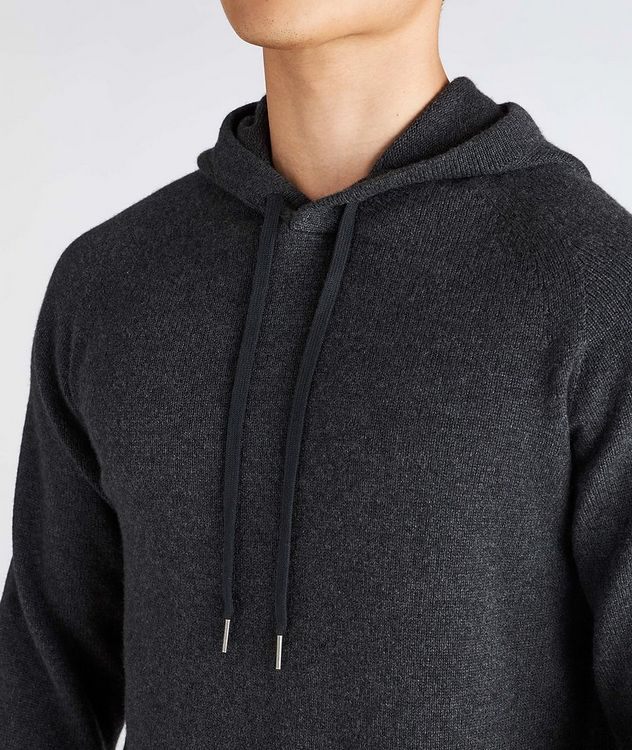 Cashmere Hooded Sweater picture 4