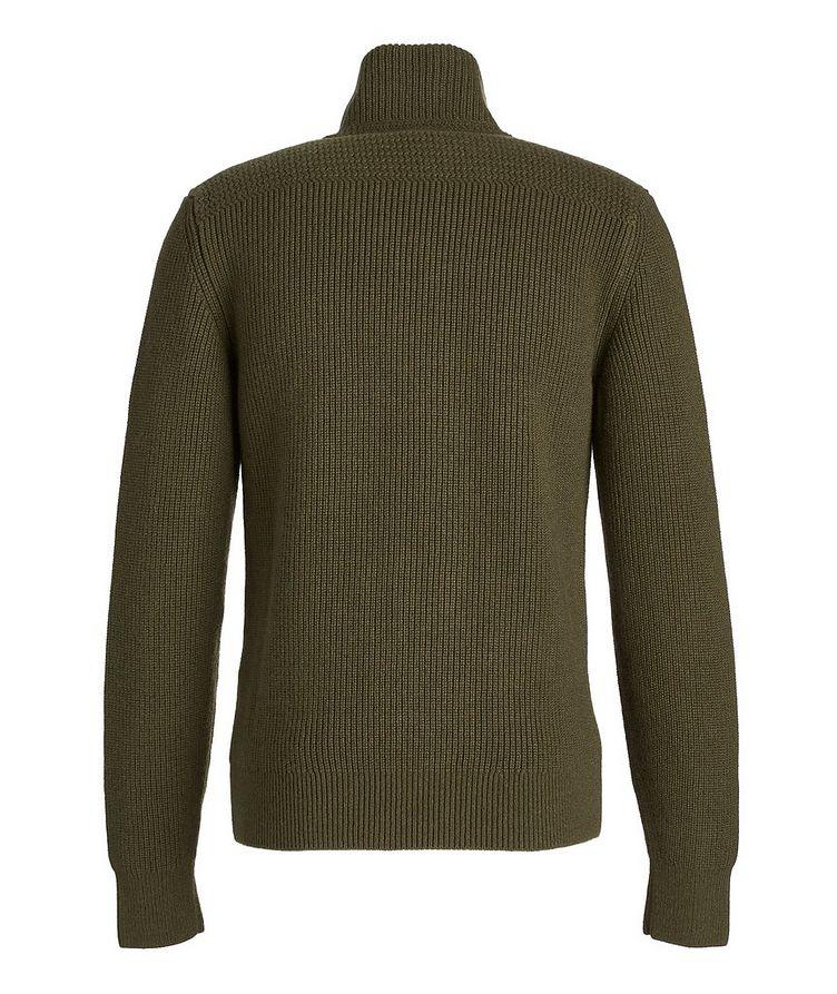 Ribbed Knit Cashmere Cardigan image 2