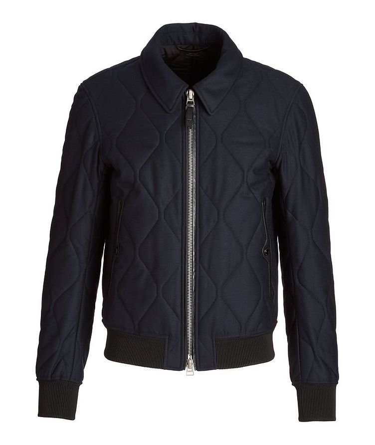 Cashmere-Wool Quilted Jacket image 0