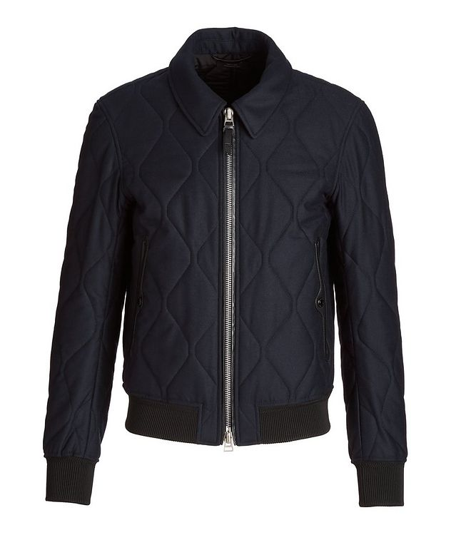 Cashmere-Wool Quilted Jacket picture 1
