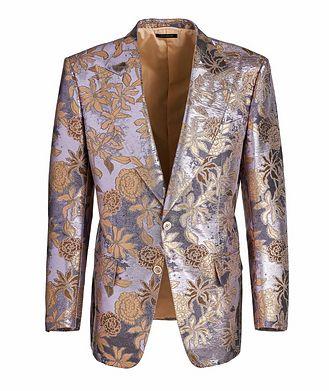 TOM FORD Floral Jacquard Cocktail Jacket