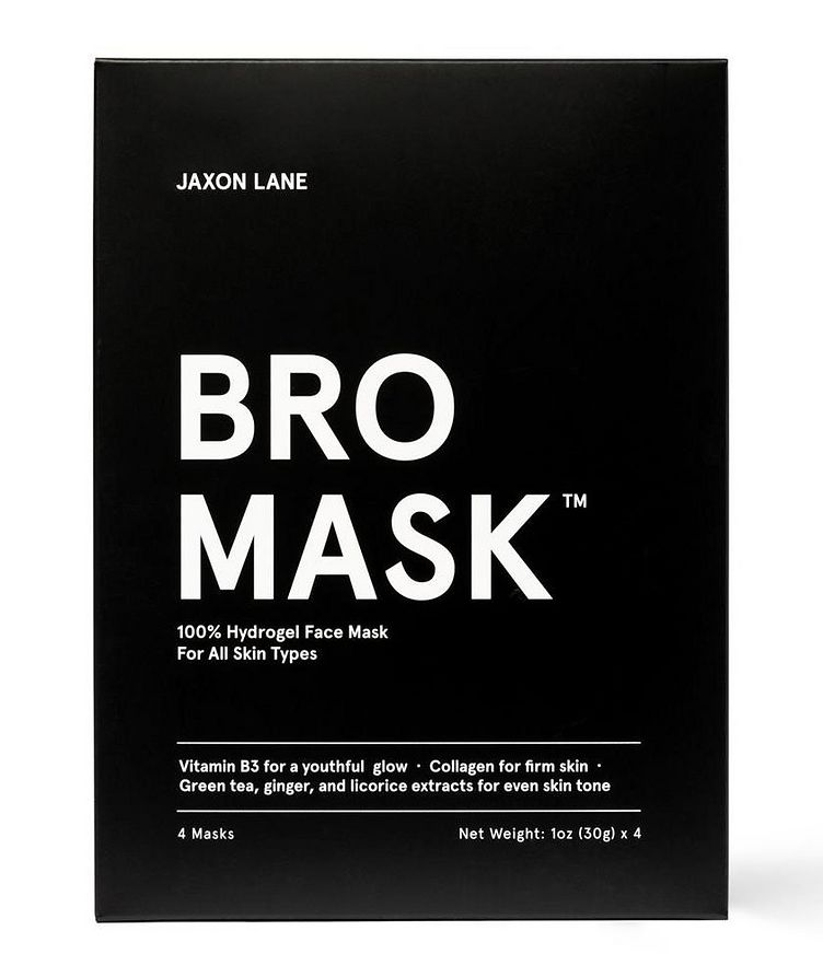 100% Hydrogel Bro Facial Mask  4-Pack image 1