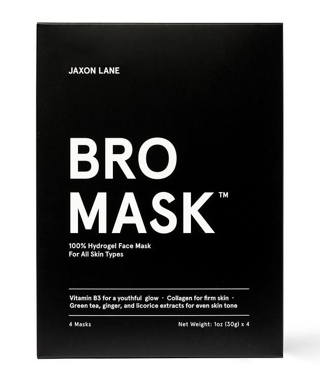 100% Hydrogel Bro Facial Mask  4-Pack picture 2