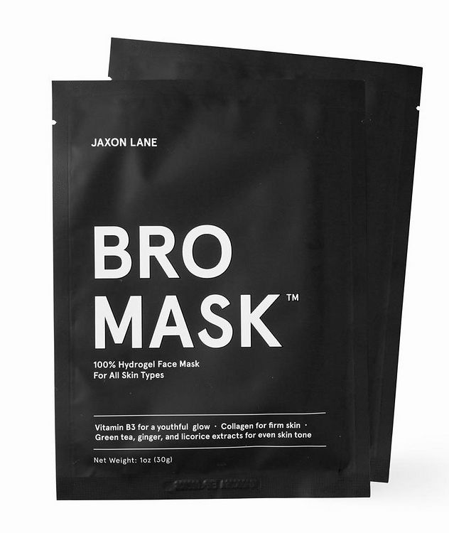 100% Hydrogel Bro Facial Mask  4-Pack picture 1