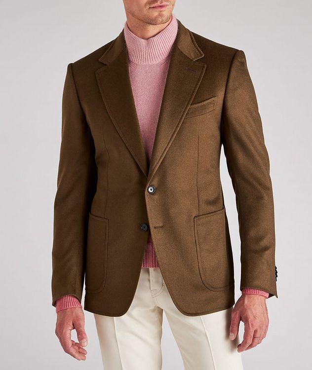 Shelton Brushed Cashmere Twill Sports Jacket picture 2