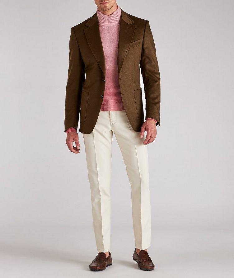 Shelton Brushed Cashmere Twill Sports Jacket image 4