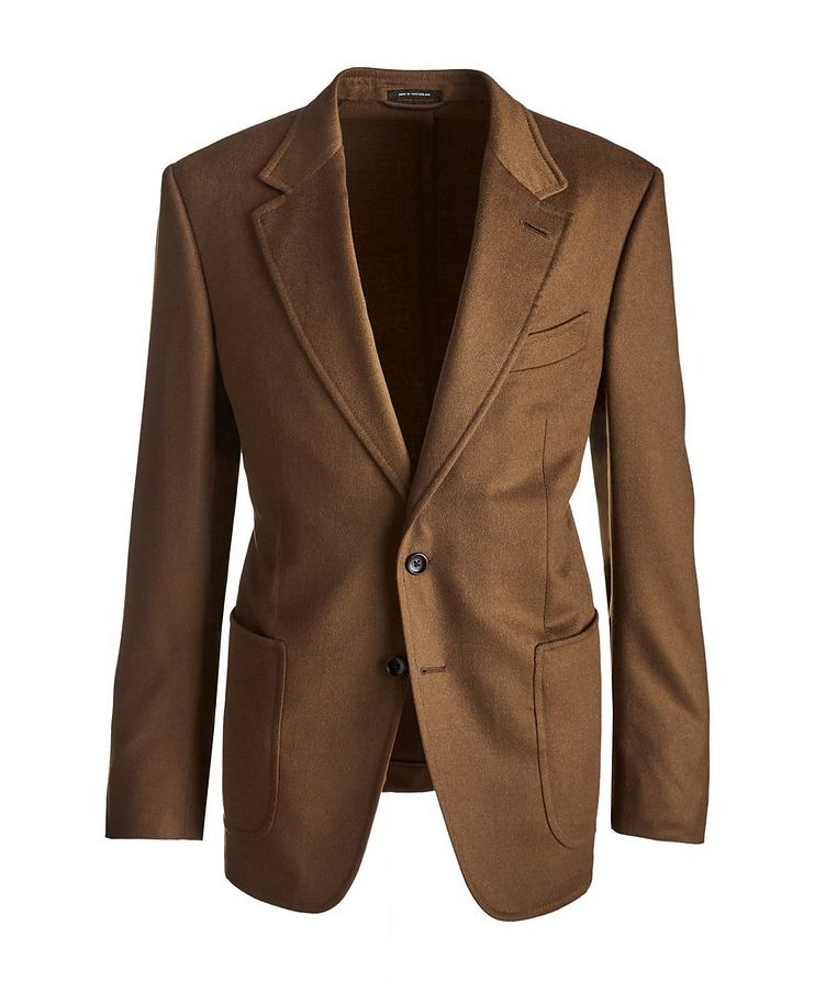 Shelton Brushed Cashmere Twill Sports Jacket image 0