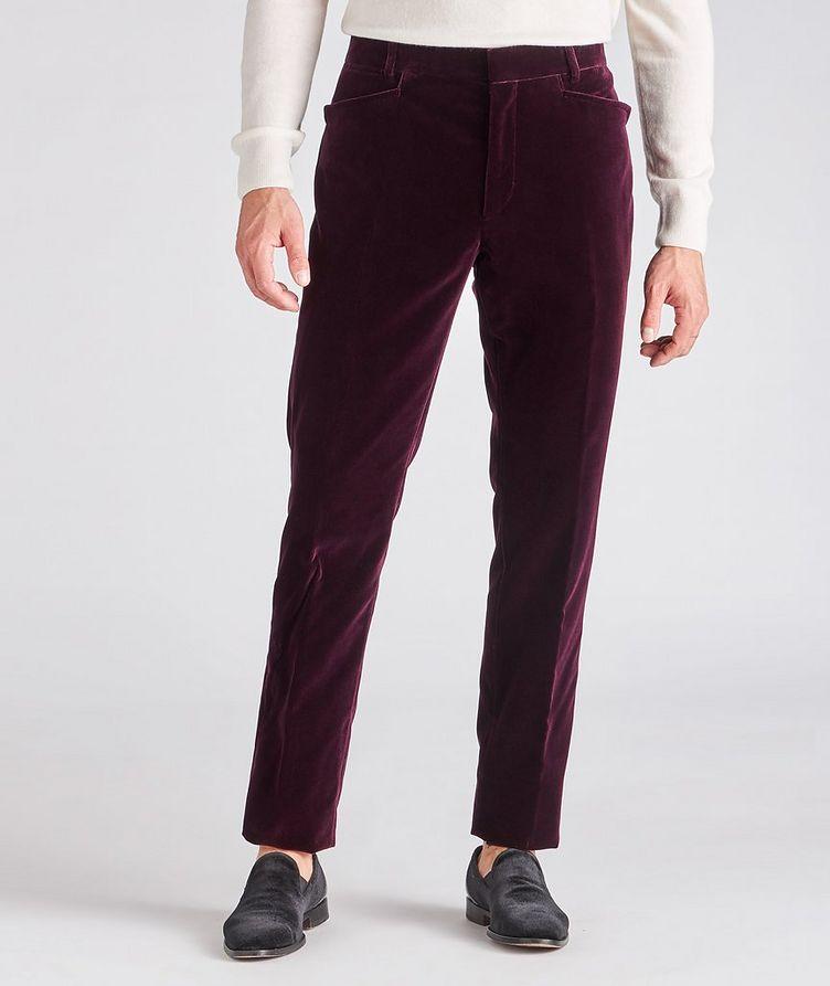 Velvet Dress Pants image 1