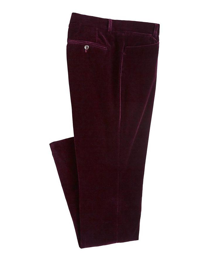 Velvet Dress Pants image 0