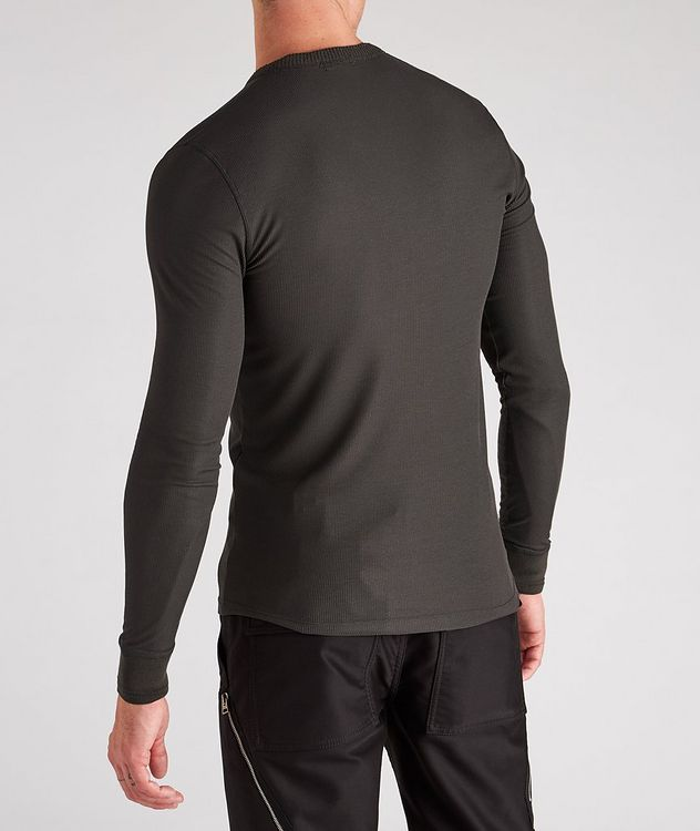 Stretch-Modal Knit Henley picture 3