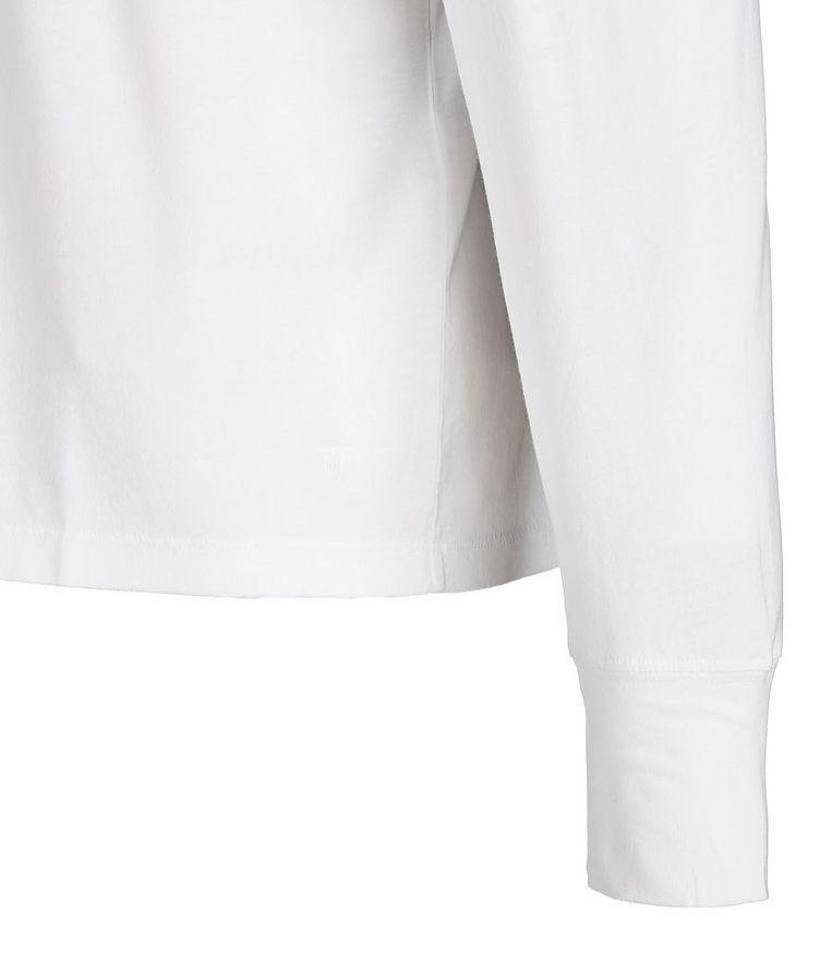 Long-Sleeve Lyocell-Cotton T-Shirt image 1