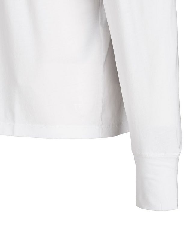 Long-Sleeve Lyocell-Cotton T-Shirt picture 2