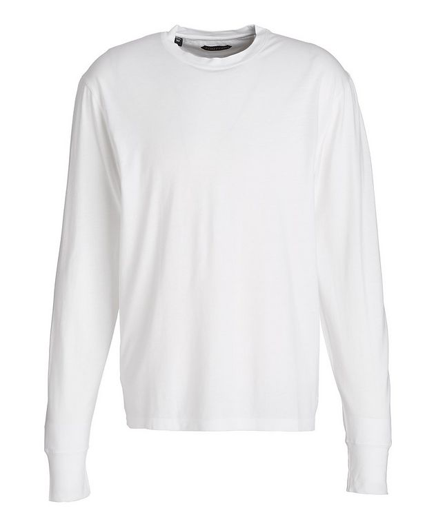 Long-Sleeve Lyocell-Cotton T-Shirt picture 1