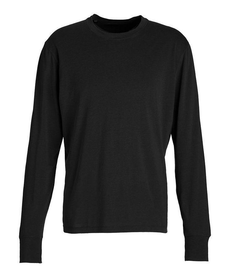Long-Sleeve Lyocell-Cotton T-Shirt image 0