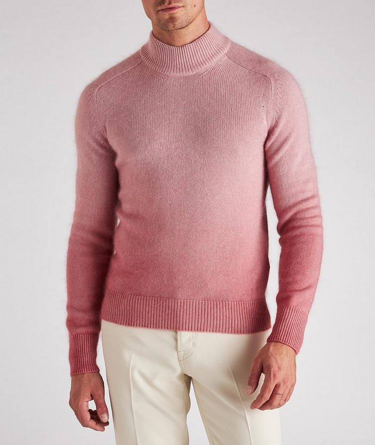 Dip-Dyed Cashmere, Mohair & Silk Sweater  image 1