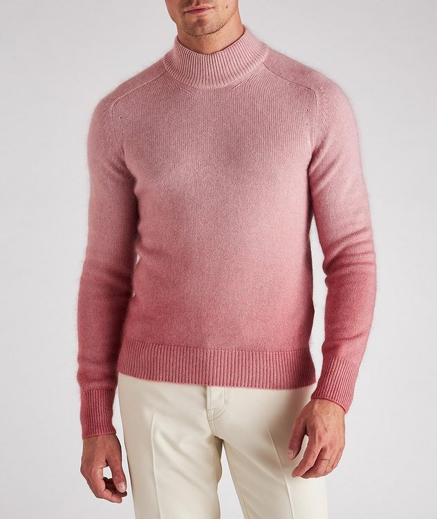 Dip-Dyed Cashmere, Mohair & Silk Sweater  picture 2