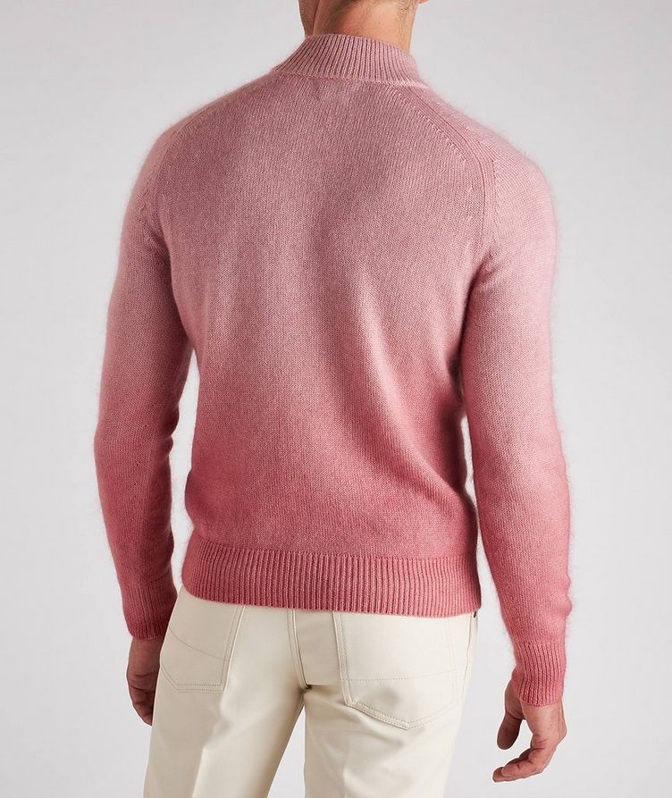 Dip-Dyed Cashmere, Mohair & Silk Sweater  image 2