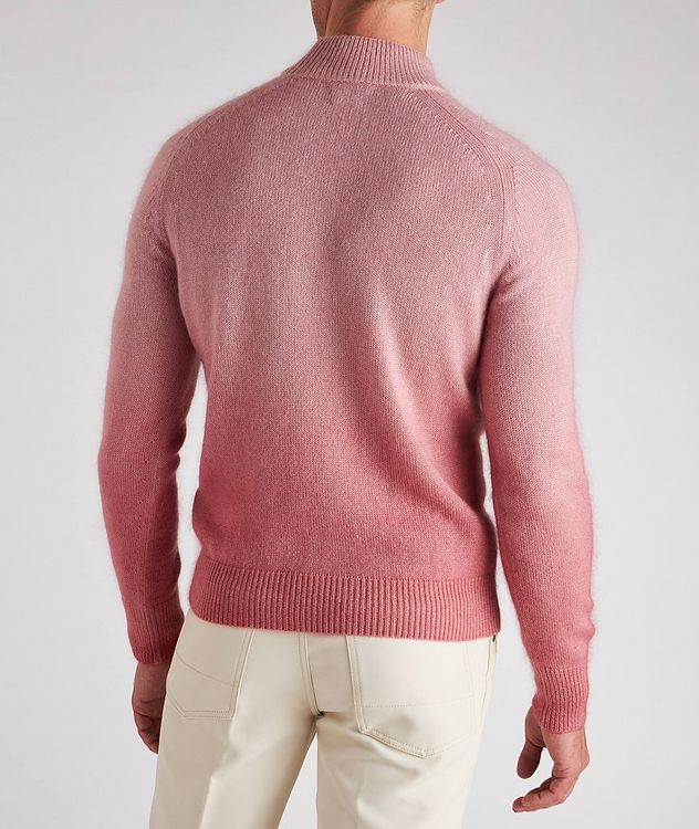 Dip-Dyed Cashmere, Mohair & Silk Sweater  picture 3