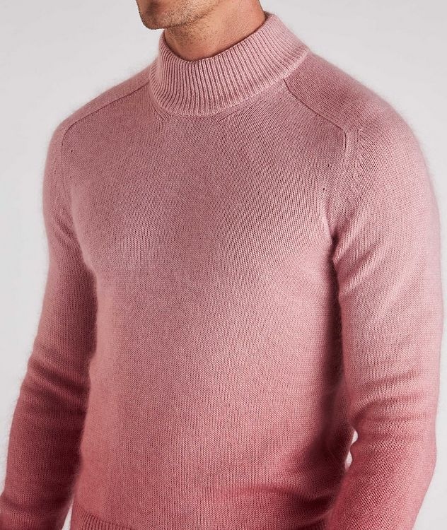 Dip-Dyed Cashmere, Mohair & Silk Sweater  picture 4