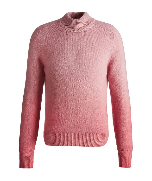 Dip-Dyed Cashmere, Mohair & Silk Sweater  picture 1