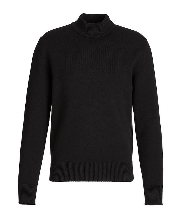 Cashmere Mock Neck Sweater picture 1