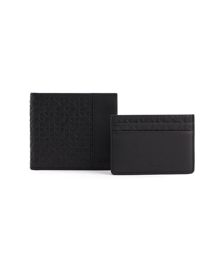 Leather Bifold and Cardholder Gift Set image 1