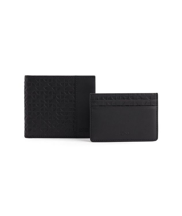 Leather Bifold and Cardholder Gift Set picture 2
