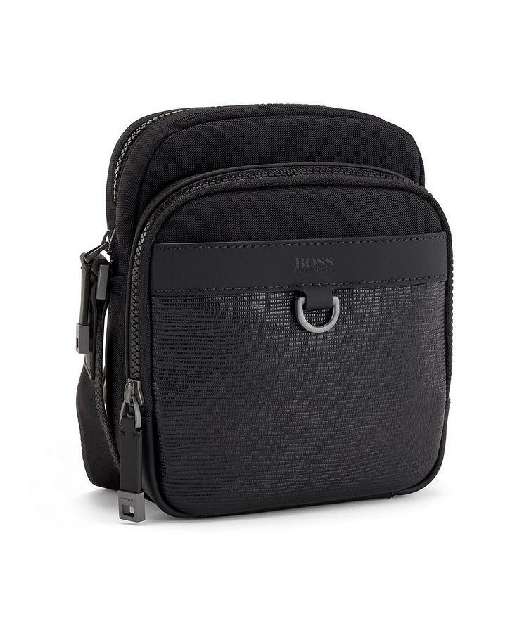 Trucker Mini Nylon and Leather Crossbody Bag image 2