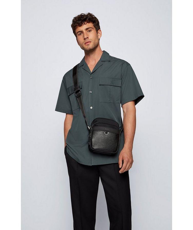 Trucker Mini Nylon and Leather Crossbody Bag image 4