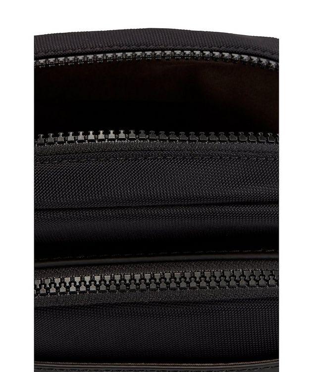 Trucker Mini Nylon and Leather Crossbody Bag picture 6