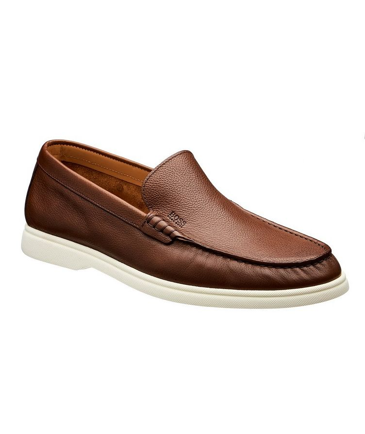 Sienne Leather Moccasins image 0